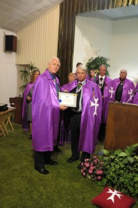 Dr. Anthony B. James receives Doctor of Natural Medicine Degree