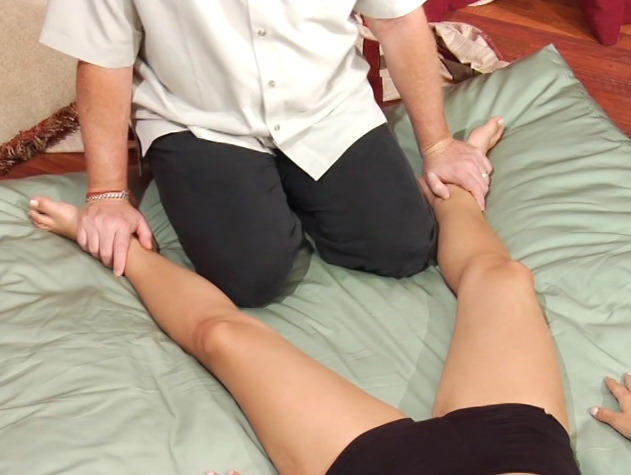 Thai Yoga Massage technique