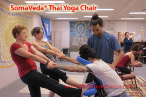 Yoga Massage and Thai Massage Chair Technique