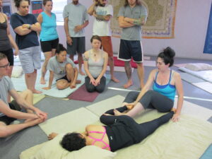Dr. Arianna Coe SomaVeda® Thai Yoga Teacher