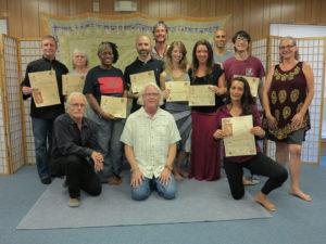 June 2017 Thai Yoga Class
