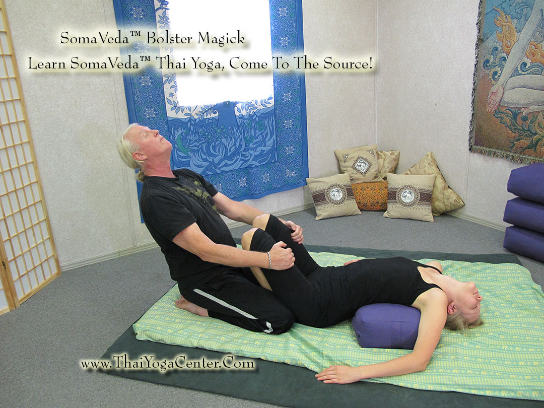 SomaVeda® Bolster Magic™ Thai Yoga Massage