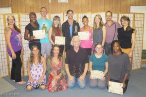 SomaVeda Thai Yoga Practitioner Grads