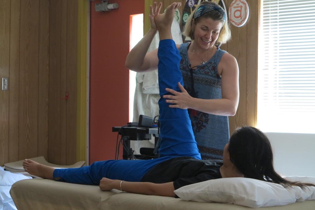 SomaVeda® Thai Yoga Table Massage