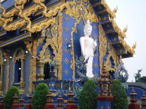 The Bluse Temple Chiangrai Thailand