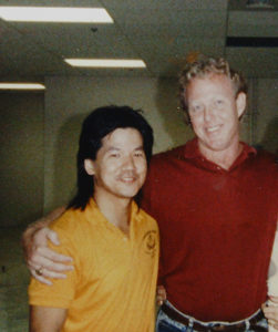 Wing Chun Sifu Francis Fong with Ajahn Dr. Anthony B. James