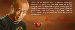 "Danny Inosanto ""Love is the highest"""