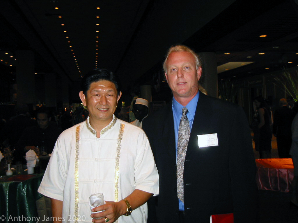 Friend of Thailand Award 2002