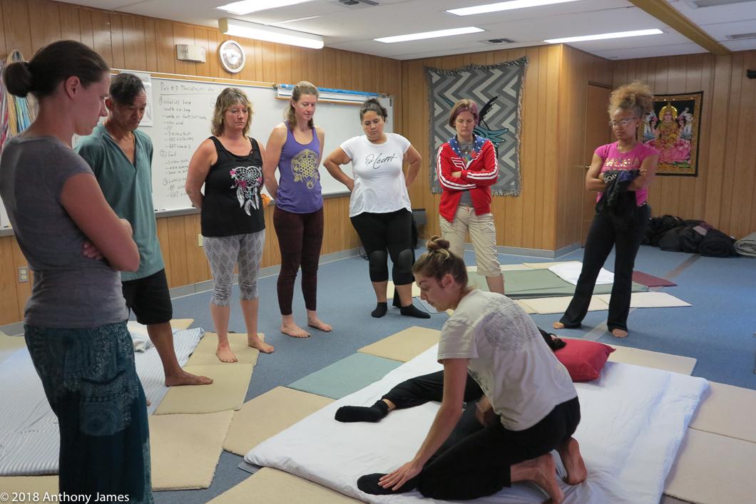 Khruu Kaylee Koslowsi Thai Yoga Massage