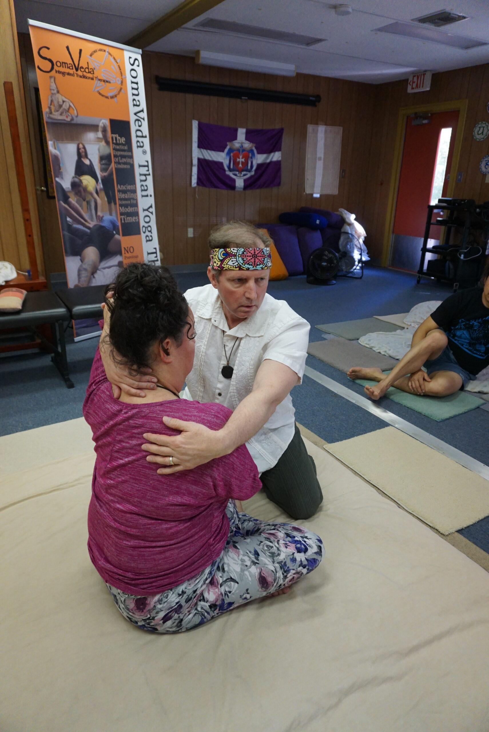 Khruu Dr. Ken Pennock teaches SomaVeda® Thai Yoga