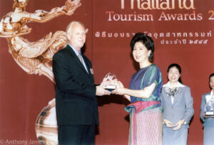 Dr. Anthony B. James Friend of Thailand Award